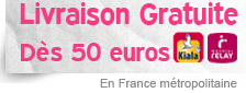 livraison gratuite dès 50 euros