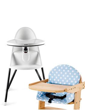 Chaise haute & Réhausseur