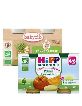 Petit pot légumes bébé