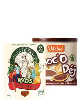 Alimentation enfant bio