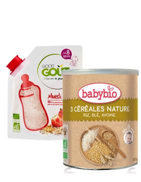 Céréale bio bébé