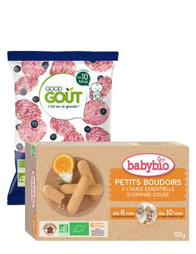Goûter & Biscuit bio bébé