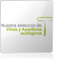 Selección vinos y aperitivos Bio