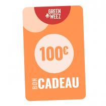 Greenweez Club - Chèque cadeau 100€