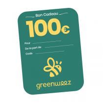 Greenweez.com - Chèque cadeau 100 Euros