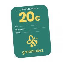 Greenweez.be - Chèque cadeau 20€
