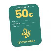Greenweez.com - Chèque cadeau 50 Euros