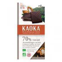Kaoka - Tablette chocolat noir 70% 100g