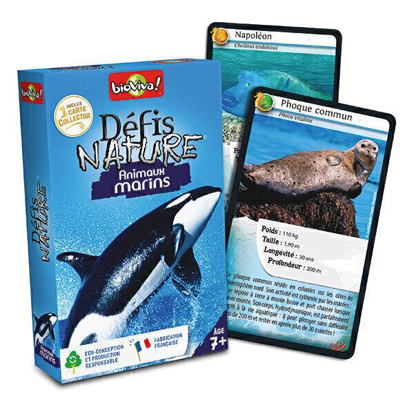 Bioviva - Défis Nature - Animaux marins - Dès 7 ans