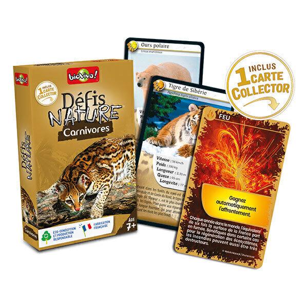 Bioviva - Défis nature - Carnivores - Dès 7 ans