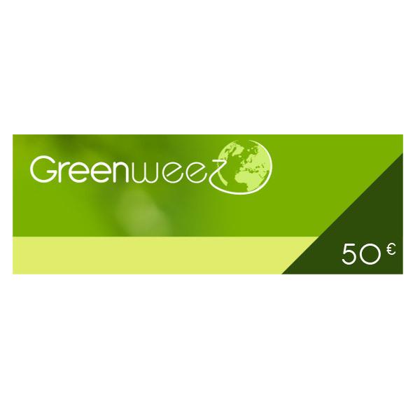 Greenweez.eu - 50 Euros Gift Voucher