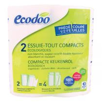 Ecodoo - Essuie-tout compact recyclé x2