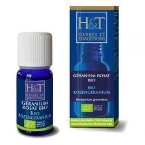 Herbes et Traditions - Huile Essentielle Bio Géranium Rosat d'Egypte Bio 10ml