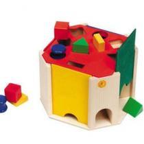 Selecta - Sortierbox Quatrino aus Holz