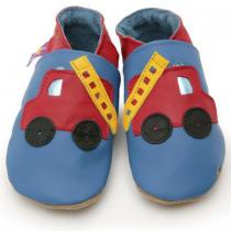 Starchild - Pantofole in cuoio Starchild Fire Engine Blue