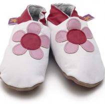 Starchild - Pantofole in cuoio Starchild Poppy White