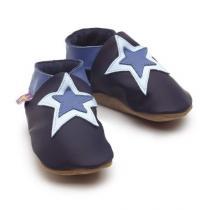Starchild - Patucos de cuero Starchild Stardom Navy