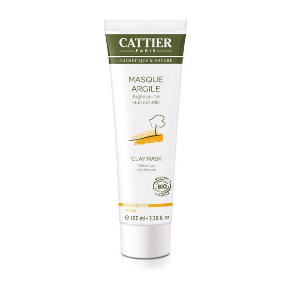 Cattier - Masque argile jaune 100ml