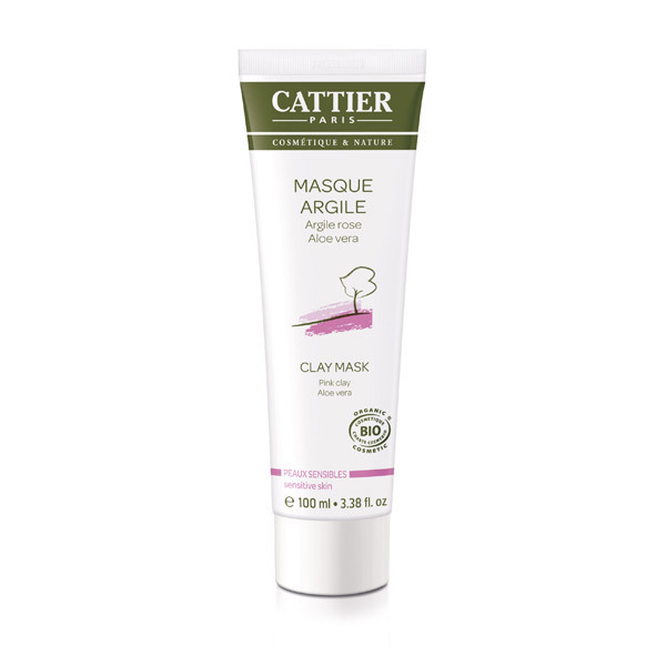 Cattier - Masque argile rose 100ml