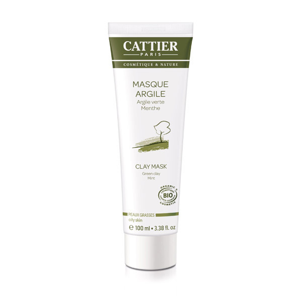 Cattier - Masque argile verte 100ml