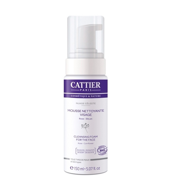 Cattier - Mousse nettoyante visage 150ml