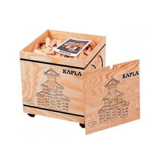 Kapla - 1000 Piece Block Set + 2 Booklets