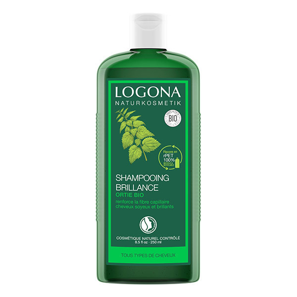 Logona - Shampoing brillance à l'ortie 250ml