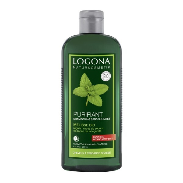 shampooing purifiant la m lisse 250 ml logona acheter sur. Black Bedroom Furniture Sets. Home Design Ideas