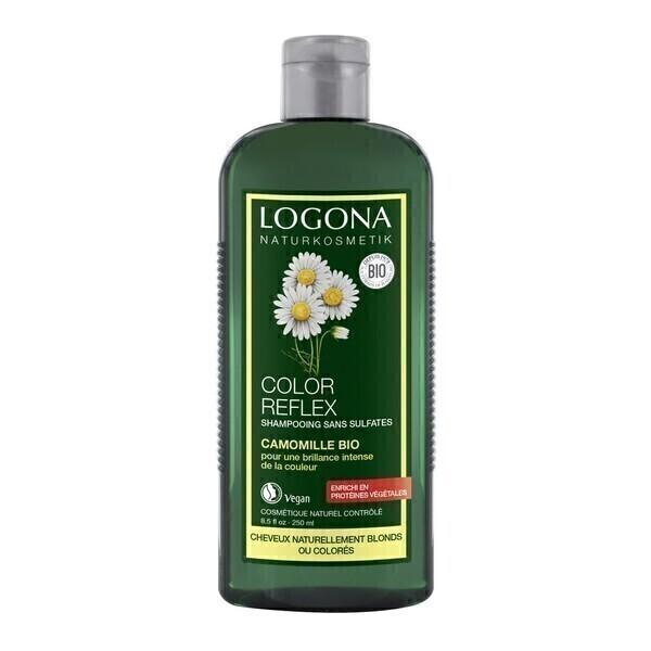 Logona - Shampooing color reflex à la camomille 250 ml