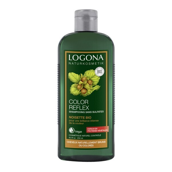 Logona - Farbpflege Shampoo Haselnuss 250 ml