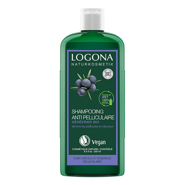 Logona - Shampooing antipelliculaire au genévrier 250ml