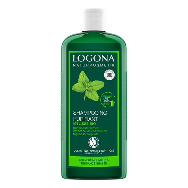 Logona - Shampooing purifiant à la mélisse 250ml