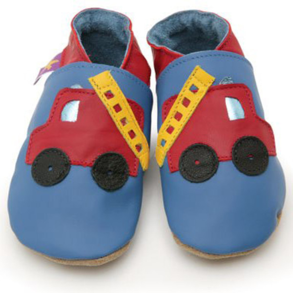 Starchild - Chaussons cuir Starchild Fire engine
