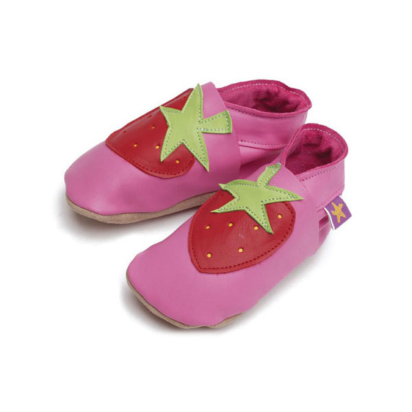 Starchild - Chaussons cuir Starchild Strawberry