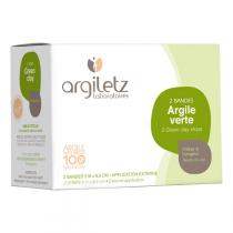 Argiletz - Green clay strips 2 strips