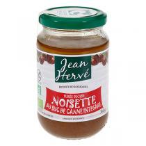 Jean Hervé - Confit de Noisette bio au Suc de Canne 360g