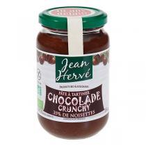 Jean Hervé - Pâte à tartiner Chocolade Crunchy bio 350g