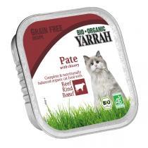 Yarrah - Katzenfutter Schale Paté Rind mit Chicorée