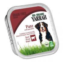 Yarrah - Barquette boeuf et spiruline chien