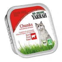 Yarrah - Katzenfutter Schale Huhn und Rind