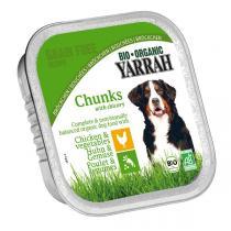 Yarrah - Barquette poulet et légumes chien