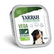 Yarrah - Bouchées végétales Vega bio pour chien barquette 150g