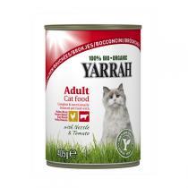 Yarrah - Katzenfutter Bröckchen Huhn und Rind