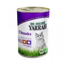 Yarrah - Katzenfutter Bröckchen Huhn und Truthahn
