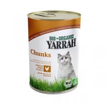 Yarrah - Katzenfutter Bröckchen Huhn