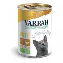 Yarrah - Pâtée pour chat boîte Poulet 400g