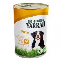 Yarrah - Pâtée pour chien boîte Poulet 400g