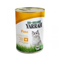 Yarrah - Katzenfutter Paté Huhn