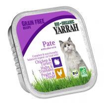Yarrah - Katzenfutter Schale Huhn und Truthahn mit Aloe Vera