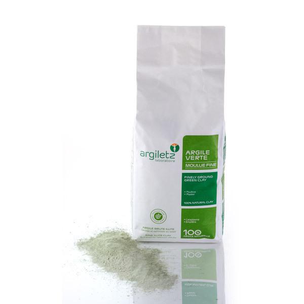 Argiletz - Argilla Verde Illite Granulata Fina 1 kg